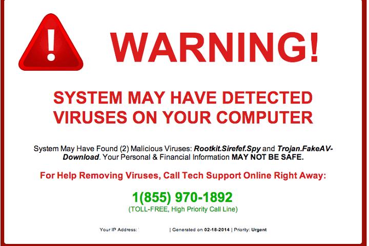 remove tech support scam pop ups 720x480
