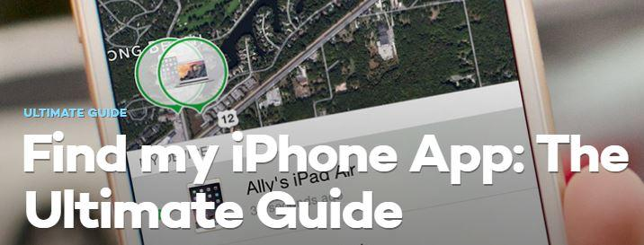 How to Guide to Find your Iphone