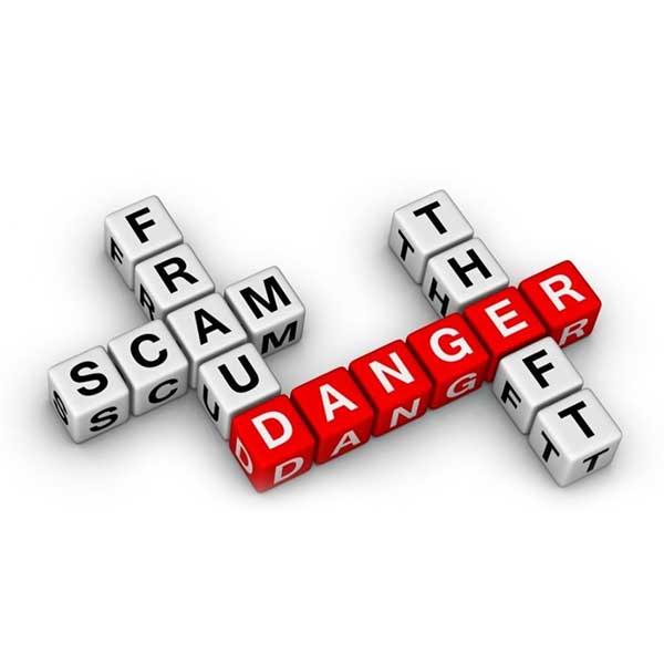 fraud scam danger theft Insurance for Real Estate